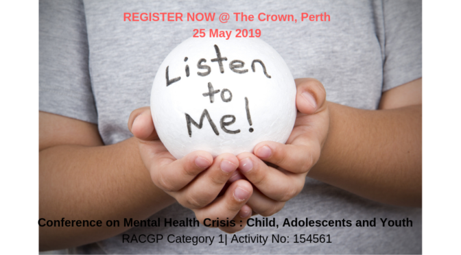 Registrations Open for Mental Health Conference